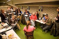 16-12-07, Netherlands, Rotterdam, Sky Radio Masters, Persconferentie met Renee Reinhard