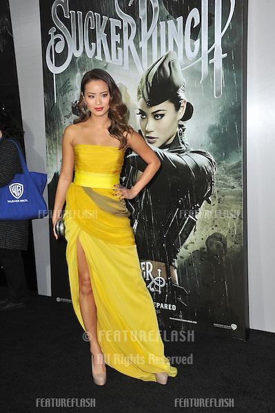 "Jamie Chung at the Los Angeles premiere of her new movie ""Sucker Punch"" at Grauman's Chinese Theatre, Hollywood..March 23, 2011  Los Angeles, CA.Picture: Paul Smith / Featureflash"