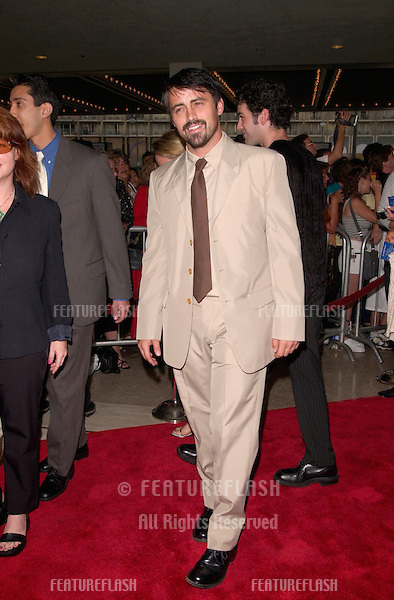 Actor MAT LEBLANC at the world premiere, in Beverly Hills, of The Patriot.