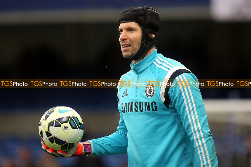 Petr Cech of Chelsea pre-match - Chelsea vs Southampton - Barclays Premier League Football at Stamford Bridge, London - 15/03/15 - MANDATORY CREDIT: Paul Dennis/TGSPHOTO - Self billing applies where appropriate - contact@tgsphoto.co.uk - NO UNPAID USE