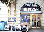 Theatre Marquee unveiling for 'The Present' starring Cate Blanchett and Richard Roxburgh at The Barrymore Theatre on December 8, 2016 in New York City.