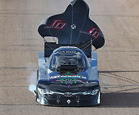 Feb 23, 2018; Chandler, AZ, USA; NHRA funny car driver Richard Townsend during qualifying for the Arizona Nationals at Wild Horse Pass Motorsports Park. Mandatory Credit: Mark J. Rebilas-USA TODAY Sports
