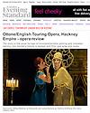 Ottone, ETO, Hackney Empire, Evening Standard 20.10.14