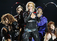 Pop singer Britney Spears performs during Rock in Rio Festival at Bela Vista park in Lisbon - 05/06/2004
