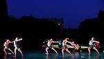 HOMMAGE AUX BALLETS RUSSES<br /> Le Sacre du Printemps<br /> <br /> Choregraphie : PRELJOCAJ Angelin<br /> Mise en scene : PRELJOCAJ Angelin<br /> Lieu : Bassin Neptune du Chateau de Versailles<br /> Ville : Versailles<br /> Le : 07 07 2010<br /> © Laurent PAILLIER / photosdedanse.com