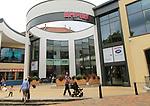 Empire Cinemas sign entrance, Buttermarket shopping centre, Ipswich, Suffolk, England, UK