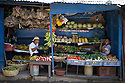 26/02/16 <br /> <br /> Boys wait for customers on their fruit and vegetable stall in Granada, Nicaragua.<br /> <br /> All Rights Reserved: F Stop Press Ltd. +44(0)1335 418365   +44 (0)7765 242650 www.fstoppress.com