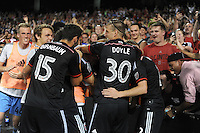 Washington D.C. - August 1, 2015: D.C. United defeated Real Salt Lake 6-4 during a 2015 MLS regular season game at RFK Stadium.