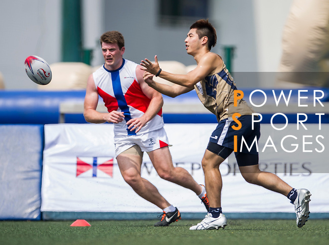 Swire Properties vs Holman Fenwick Willan during the Swire Properties Touch Tournament at Kowloon King's Park Sports Ground on 13 July 2013 in Hong Kong, China. Photo by Victor Fraile / The Power of Sport Images