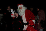 Luke Kelly santa arriving at scotch hall.<br /> Picture: Fran Caffrey www.newsfile.ie