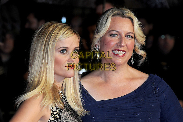 LONDON, ENGLAND - OCTOBER 13: Reese Witherspoon and Cheryl Strayed attend the Mayfair Hotel Gala Screening of Wild during the 58th BFI London Film Festival at Odeon Leicester Square on October 13, 2014 in London, England.<br /> CAP/BEL<br /> &copy;Tom Belcher/Capital Pictures