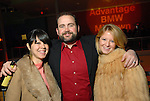 From left: Amber and Lennie Ambrose with Jamie Glover at the Houston Young People for the Arts Fire & Ice Gala at the Houston Pavilions Saturday Jan. 24, 2009.(Dave Rossman/For the Chronicle)
