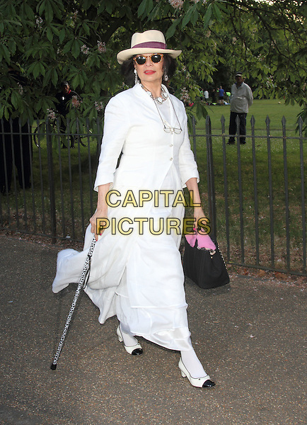 LONDON, UNITED KINGDOM - JULY 01: Bianca Jagger attends the annual Serpentine Gallery Summer Party at The Serpentine Gallery on July 1, 2014 in London, England<br /> CAP/ROS<br /> &copy;Steve Ross/Capital Pictures