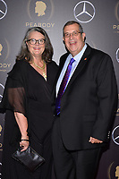 NEW YORK - MAY 18: Dr.Charles Davis and Julie Davis attend the 78th Annual Peabody Awards at Cipriani Wall Street on May 18, 2019 in New York City. (Photo by Anthony Behar/FX/PictureGroup)