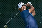 Pablo Larrazabal of Spain tees off during the 58th UBS Hong Kong Golf Open as part of the European Tour on 09 December 2016, at the Hong Kong Golf Club, Fanling, Hong Kong, China. Photo by Marcio Rodrigo Machado / Power Sport Images
