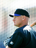 Matt Williams of the Arizona Diamondbacks before a 1999 season Major League Baseball game against the Los Angeles Dodgers at Dodger Stadium in Los Angeles, California. (Larry Goren/Four Seam Images)