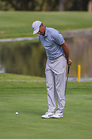 Tiger Woods (USA) lines up his birdie putt on 6 during round 1 of the World Golf Championships, Mexico, Club De Golf Chapultepec, Mexico City, Mexico. 2/21/2019.<br /> Picture: Golffile | Ken Murray<br /> <br /> <br /> All photo usage must carry mandatory copyright credit (© Golffile | Ken Murray)