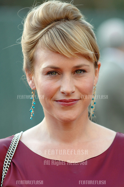 "Actress PATRICIA ARQUETTE, star of TV series ""Medium"" at party in Los Angeles to launch the new season on NBC TV..July 25, 2005 Los Angeles, CA.© 2005 Paul Smith / Featureflash"