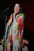 MIAMI, FL - NOVEMBER 07: Natalia Jimenez performs during the iHeartRadio Fiesta Latina concert at American Airlines Arena on November 7, 2015 in Miami, Florida. Credit Larry Marano © 2015