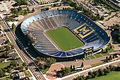 October 2000. Empty Michigan Stadium aerial.