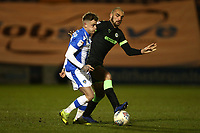 Sammie Szmodics of Colchester United and Gavin Gunning of Forest Green Rovers during Colchester United vs Forest Green Rovers, Sky Bet EFL League 2 Football at the JobServe Community Stadium on 12th March 2019