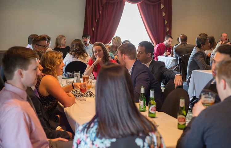 The Ohio University College of Business Commencement reception at The Ohio University Inn on April 9, 2016 (Photo by Emily Matthews)