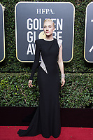 Nominated for BEST PERFORMANCE BY AN ACTRESS IN A MOTION PICTURE &ndash; COMEDY OR MUSICAL for her role in &quot;Lady Bird,&quot; actress Saoirse Ronan arrives at the 75th Annual Golden Globe Awards at the Beverly Hilton in Beverly Hills, CA on Sunday, January 7, 2018.<br /> *Editorial Use Only*<br /> CAP/PLF/HFPA<br /> &copy;HFPA/PLF/Capital Pictures