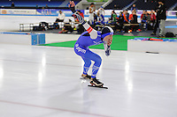 SCHAATSEN: HEERENVEEN: 03-02-2017, KPN NK Junioren, Junioren C Heren 500m, Remo Slotegraaf, ©foto Martin de Jong
