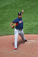 Boston Red Sox pitcher Eduardo Rodriguez (79) during a Spring Training game against the Pittsburgh Pirates on March 12, 2015 at McKechnie Field in Bradenton, Florida.  Boston defeated Pittsburgh 5-1.  (Mike Janes/Four Seam Images)