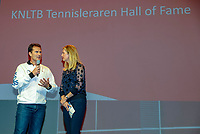 Nieuwegein,  Netherlands, 9 November 2018, Coaches congress KNLTB, Kristy Boogert and Jacco Eltingh<br /> Photo: Tennisimages.com/Henk Koster