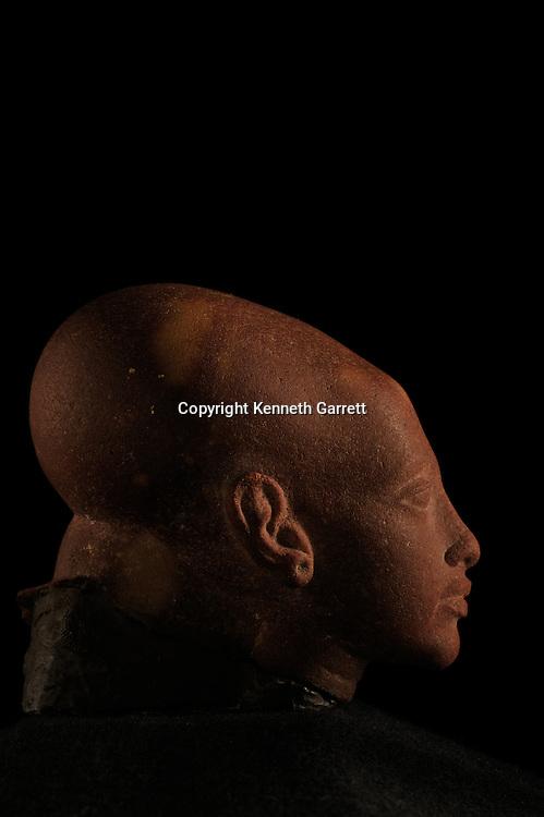 mm7864; 18th Dynasty; New Kingdom; Egypt; The Egyptian Museum; Cairo; Tut Sister; statue; Quartzite, Amarna Princess