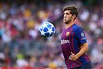UEFA Champions League 2018/2019 - Matchday 1.<br /> FC Barcelona vs PSV Eindhoven: 4-0.<br /> Sergi Roberto.