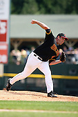 August 12 2008:  Starting Pitcher Tom Shearn (48) of the Rochester Red Wings, Class-AAA affiliate of the Minnesota Twins, during a game at Frontier Field in Rochester, NY.  Photo by:  Mike Janes/Four Seam Images