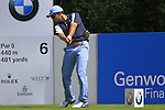 Ingacio Garrido tees off on the 6th tee during Day 3 of The BMW International Open Munich at Eichenried Golf Club, 26th June 2010 (Photo by Eoin Clarke/GOLFFILE).
