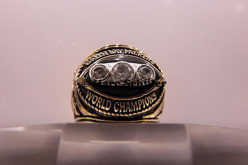 Super Bowl Ringe der einzelnen Siegerteams: II Green Bay - 1967
