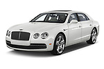 2016 Bentley Continental   Flying Spur 4 Door Sedan angular front stock photos of front three quarter view