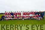 The Cromane team who lost to Ballybrown in the Munster Junior B Club Football Final in Knockaderry