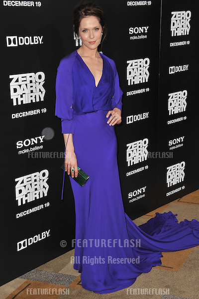 "Katie Aselton at the premiere of ""Zero Dark Thirty"" at the Dolby Theatre, Hollywood..December 10, 2012  Los Angeles, CA.Picture: Paul Smith / Featureflash"