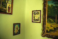 Icons of a Romanian houshold, Craiova, Romania<br />