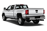 Car pictures of rear three quarter view of 2019 Chevrolet Silverado-2500 LT 4 Door Pick-up Angular Rear