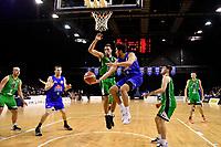 Saints' Theo Johnson in action during the NBL - Cigna Saints v Manawatu Jets at TSB Bank Arena, Wellington, New Zealand on Sunday 30 June 2019. <br /> Photo by Masanori Udagawa. <br /> www.photowellington.photoshelter.com