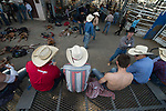 Cowboys during the Cody Stampede event in Cody, WY - 7.1.2019 Photo by Christopher Thompson