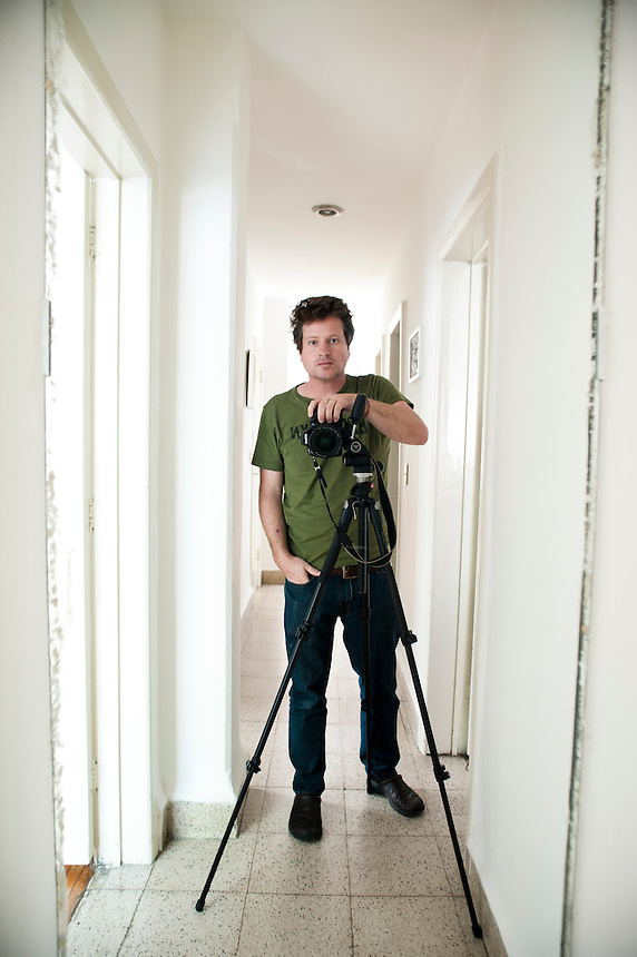 Self Portrait Adam Wiseman, Escandon, Mexico City