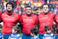 Spain national team Jesus Moreno, Marco Pinto and Benat Auzqui and Germany national team XXX during Europe Championship match between Spain and Germany at Central in Madrid , Spain. March 12, 2018. (ALTERPHOTOS/Borja B.Hojas) /NortePhoto.com NORTEPOHOTOMEX