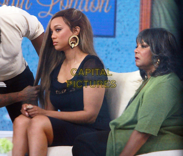 NEW YORK, NY April 02, 2018:   Tyra Banks, Carolyn London at Today Show  to talk about new book Perfect Is Boring  in New York. April 02, 2018 <br /> CAP/MPI/RW<br /> &copy;RW/MPI/Capital Pictures