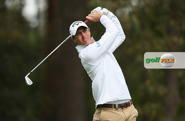 Nicolas COLSAERTS (BEL) during Round One of the 2015 BMW PGA Championship over the West Course at Wentworth, Virginia Water, London. Picture David Lloyd, www.golffile.ie: 21/05/2015