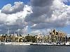View over the fishing harbour of Palma de Mallorca to the cathedral La Seu<br /> <br /> Vista sobre el puerto pesquero de Palma de Mallorca a la catedral La Seu<br /> <br /> Blick &uuml;ber den Fischerhafen von Palma de Mallorca auf die Kathedrale La Seu<br /> <br /> 2272 x 1703 px<br /> 150 dpi: 38,47 x 28,85 cm<br /> 300 dpi: 19,24 x 14,43 cm