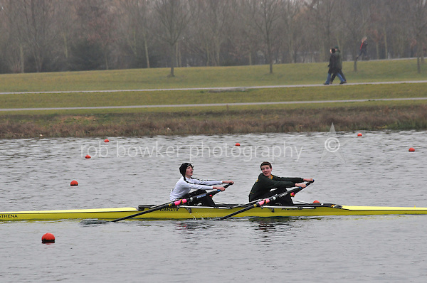 314 Abingdon RC J15A.2x..Marlow Regatta Committee Thames Valley Trial Head. 1900m at Dorney Lake/Eton College Rowing Centre, Dorney, Buckinghamshire. Sunday 29 January 2012. Run over three divisions.