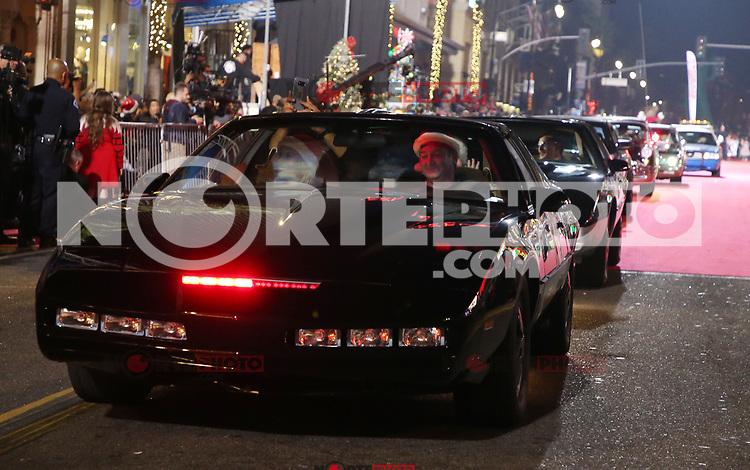 HOLLYWOOD, CA - NOVEMBER 26: Atmosphere, at 86th Annual Hollywood Christmas Parade at Hollywood Blvd in Hollywood, California on November 26, 2017. Credit: Faye Sadou/MediaPunch /NortePhoto NORTEPHOTOMEXICO