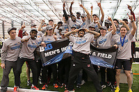 at the Big Ten Track & Field Championships at SPIRE Institute in Geneva, Ohio on Saturday, February 28, 2015.